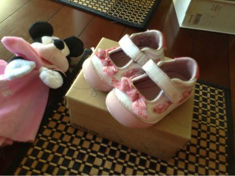 Stride Rite baby girl shoes - $15 (Katy)