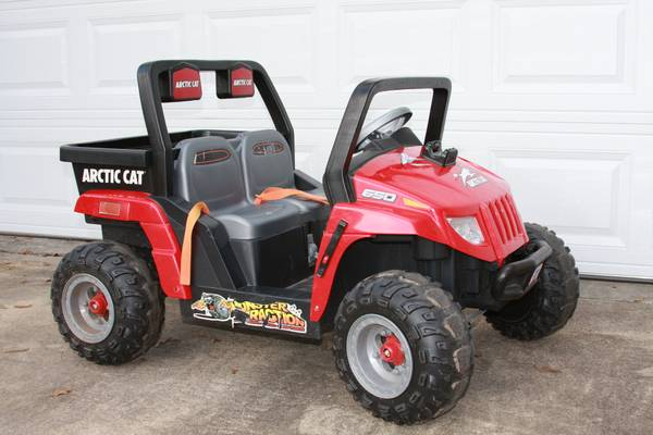 Power Wheels Artic Cat - $200 (West Houston)