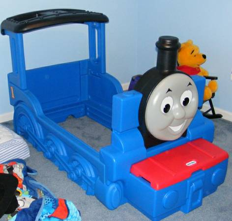 Toddler Bed Thomas and Train - $80 (katy)