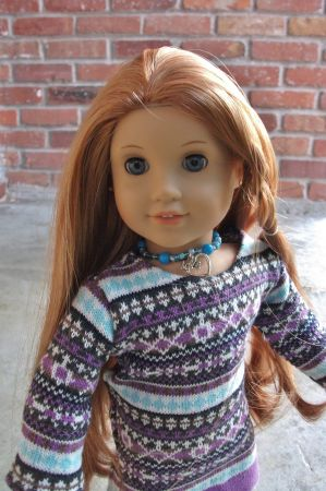 AMERICAN GIRL DOLL ELIZABETH NEW MAKEOVER RED HAIR CUSTOMIZED - $145 (Houston )
