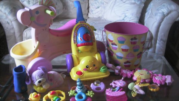 Baby Girl Toy Lot (great to add to your daughters christmas list)  - $30 ((((((southeast 77023))))))