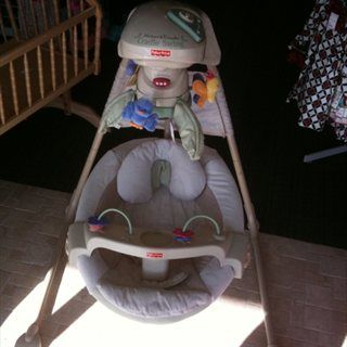 Fisher Price Cradle Swing Natures Touch - $70 (Hwy 6 North 77084)
