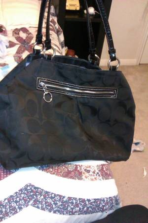 authentic coach diaper bag - $75 (Houston )