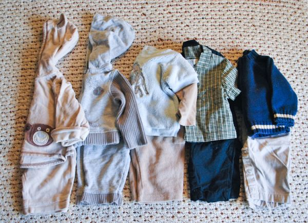 Baby Boy Winter Clothes 6-9 months  16 Lot - $10 (SW)