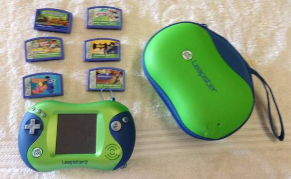 Leapfrog Leapster 2 Plus 6 games - $50 (Richmond)