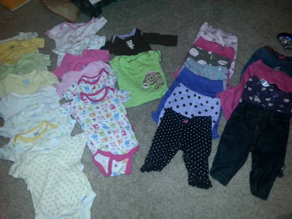 Baby Girl Clothes -   x0024 50  sw houston