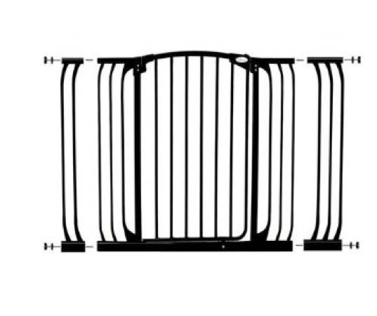 Dream Baby Hallway Security Gate Combo - Black  -   x0024 50  290