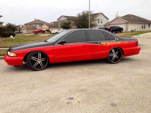 1995 Chevrolet Impala SS -- Custom, tons of new parts  - x00247500 (Galleria Houston )