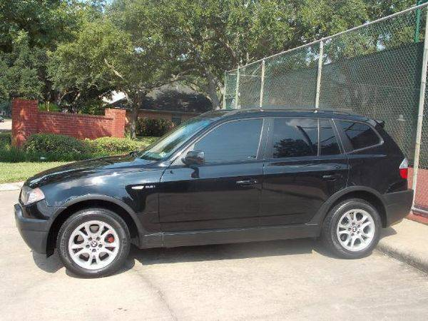 Stock wb23261-8 BMW 2004 X3 2.5i (Elephant Auto Group - Katy)