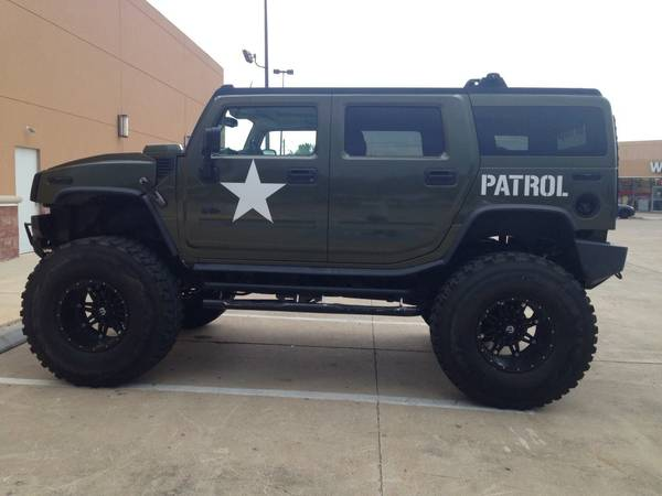 2003 Extreme LIFTED military edition Hummer H2 - $22000 (Houston)
