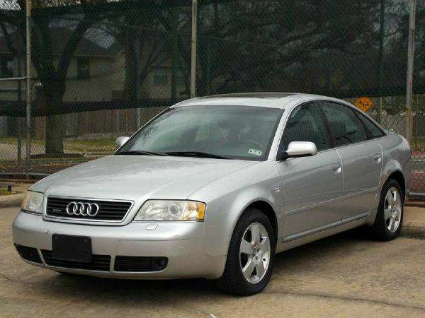 Stock 008398-8 2001 Audi A6 4dr Sdn Quattro AWD 6-spd 2.7T (Elephant Auto Group)