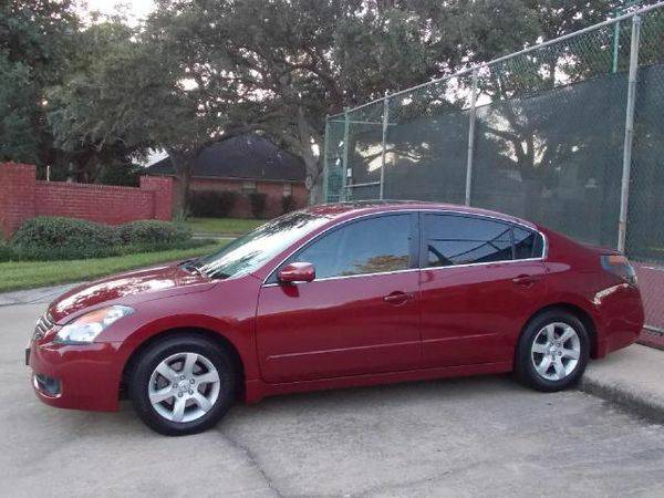 Red 2008 Nissan Altima 2.5 (Elephant Auto Group - Katy, TX)