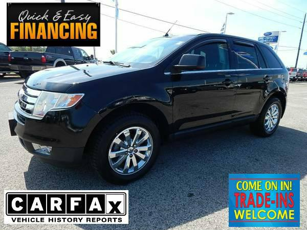 15 989  2008 Ford Edge Limited  32 388  Black Rides and Drives like a DREAM