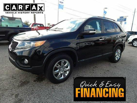 2013 Kia Sorento Lx BLACK 49,325 mis LIKE BRAND NEW Must See