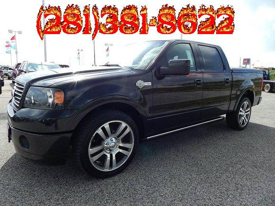 $23,989, 2007 Ford F-150 Super Crew Harley-Davidson Black 1 Owner Garaged
