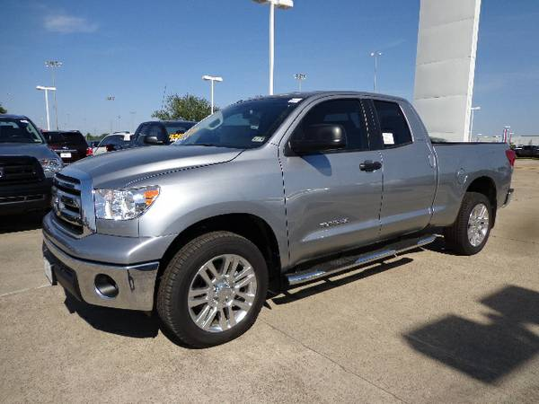 2013 Toyota Tundra 2WD Double Cab Standard Bed 4.6L V8 TSS HIGH QUAL - $36867 (Houston)
