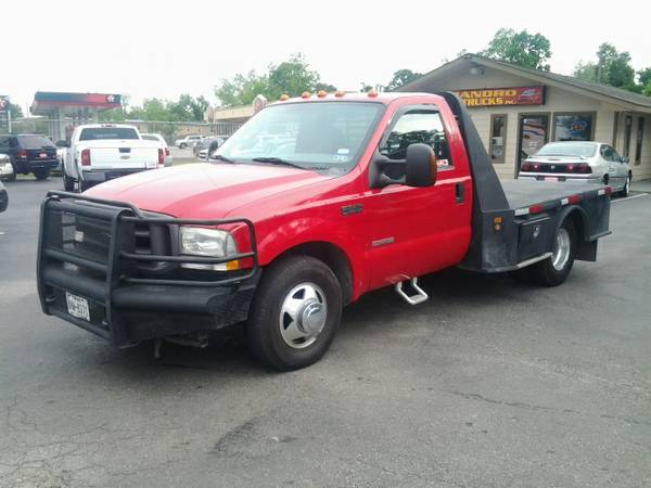 2004 FORD F350 DUALLY SINGLE CAB FLAT BED - $7950 (HOBBY)