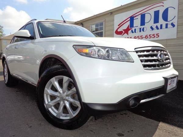 2006 Infiniti FX 1 Owner HABLA ESPANOLWE SET THE STANDARD HIGHLOOK NO FURTHER - $15586 (ASK ABOUT OUR GUARANTEED FINANCING FOR EVERYONEGOOGLE US)