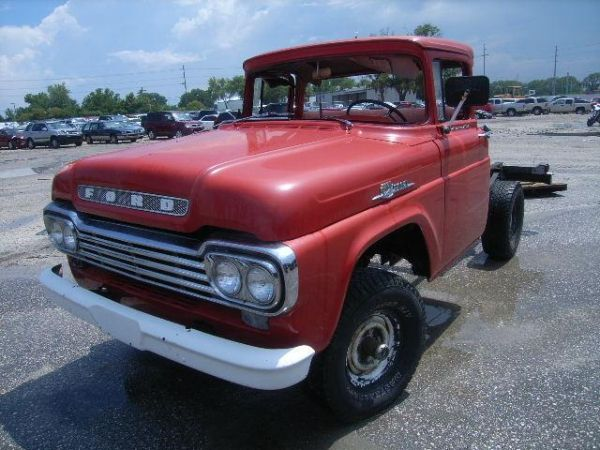 Collectible 1959 Ford F100 - $4500 (Pearland, Texas)