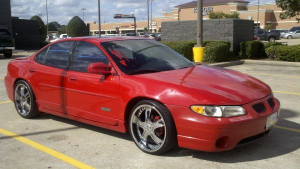 99 Pont. Grand Prix GTP dropped with 20s - $4500 (Houston-Memorial City Mall)