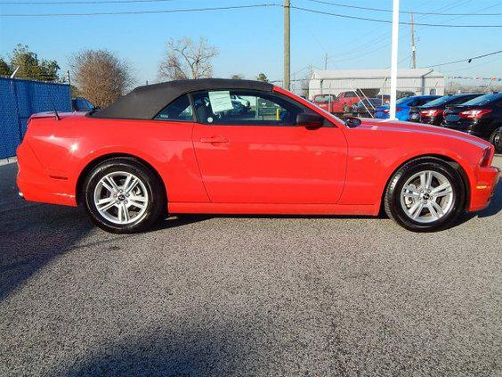 $26,989, 2014 Ford Mustang Convertible  Certified  RED  7,436 miles