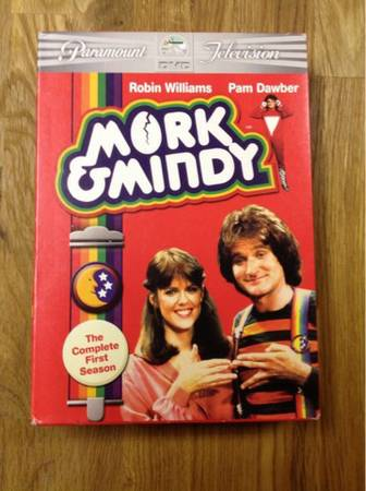 TV series Mork and Mindi season 1 - $15 (Tomball)