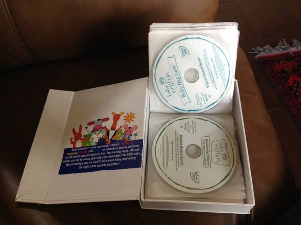 Baby Einstein 26 Dvd Collection For Sale