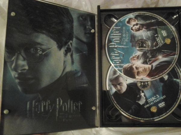 Harry Potter and the Half-Blood Prince DVD - $20 (FswdPrldClear Lake)