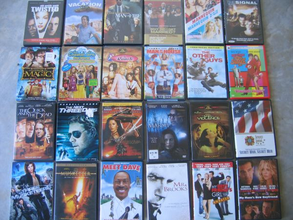 Dvds All Original - $2 (NW.Houston 77433)