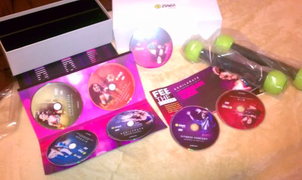 ZUMBA EXHILARATE NEW IN BOX-AS SEEN ON TV - $50 (HOUSTON)