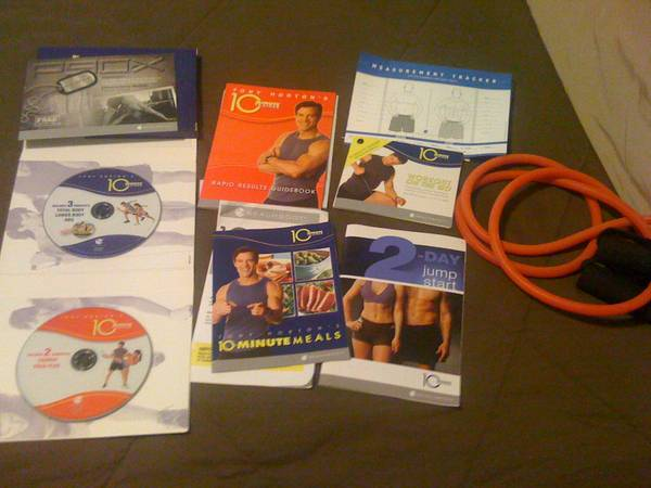Beach Body 10 Minute Trainer Work Out DVD - $70 (Pasadena TX)