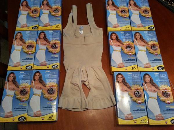 BODY SILUETTE FAJAS NO WIRE, SEAM OR ZIPPER - $35 (RGV)