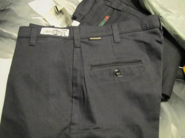 WorkRite FRC Navy blue pants NEW 12.4 Arc rating 40 waist x 32 insea - x002440