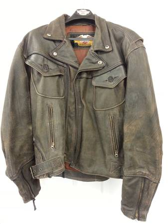HARLEY DAVIDSON LIMITED EDITION LEATHER JACKET - $425 (HOUSTON)