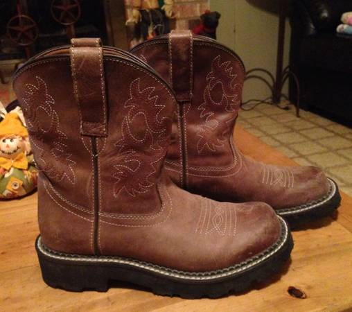 2 pair Ariat Fat Baby Boots sz 7B - $25 (Hempstead)