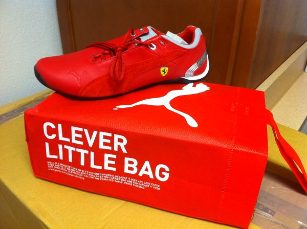 TENNIS PUMA FERRARI BRAND NEW KIDS AND WOMEN - $70 (GALLERIA)