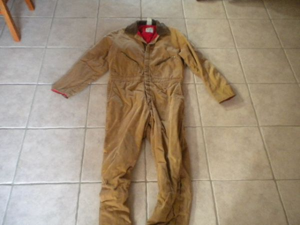 Insulated Coveralls - Overalls - Pants - $1 (Baytown)