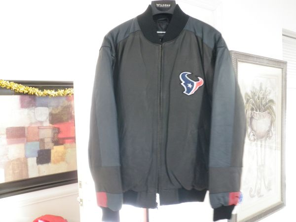 New Houston Texans Leather Jacket and Dallas Cowboys Pullover - $85 (West Houston)