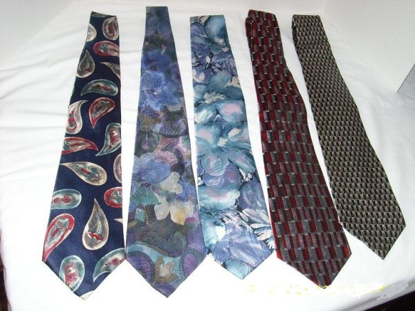 Mens Ties - Embassy Row, Murano, Botany, Guccini, Van Heusen - $10 (Spring N Houston)