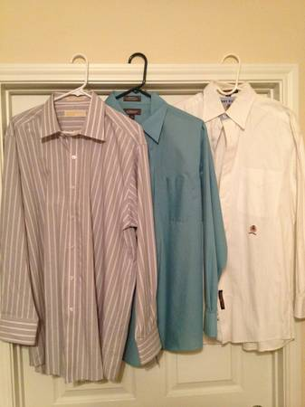 Mens Shirts M L Ralph Lauren Michael Kors Banana Republic - $12 (Katy)