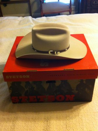 Stetson 4x Beaver Cowboy Hat - $175 (Houston, Texas)