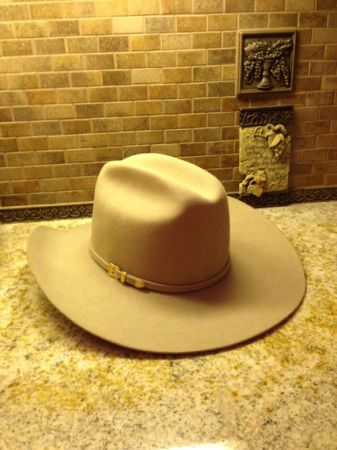 MHT Master Hatters of Texas 7 14 camel color Cowboy Hat - $44 (Richmond Texas)