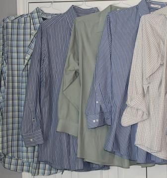Mens Dress Shirts Long Sleeve 16.5 3233 - $7 (Pearland)