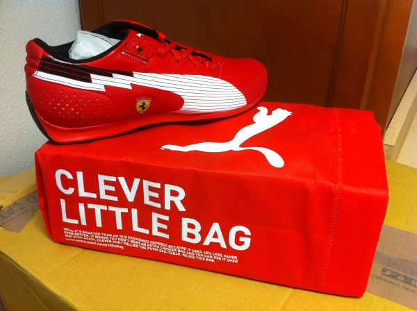 TENNIS PUMA FERRARI BRAND NEW ALL SIZES - $90 (GALLERIA)