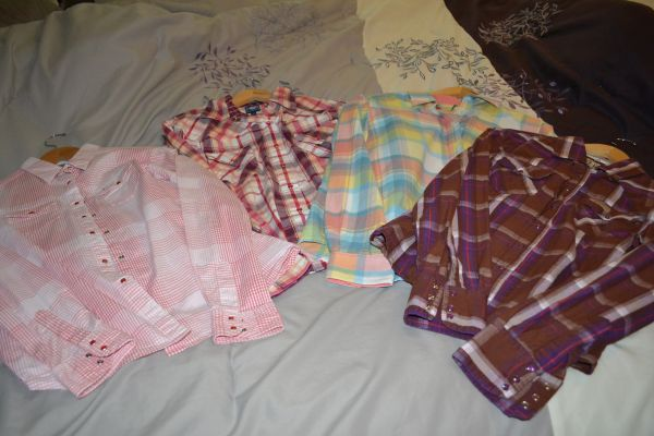 4 Western shirts for women - $50 (Houston)