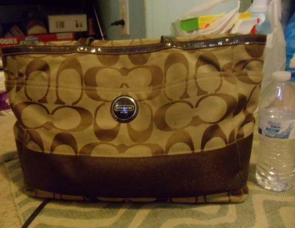 Authentic Coach diaper bag  - $200 (houston)