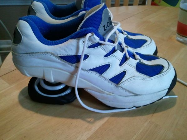 Z coil running shoes - $60 (99 and Franz Rd)
