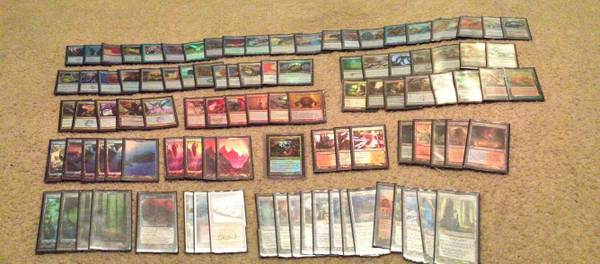 Magic the Gathering Collection EDH Deck FOILED OUT Standard Modern Leg - x00245000 (kingwood)