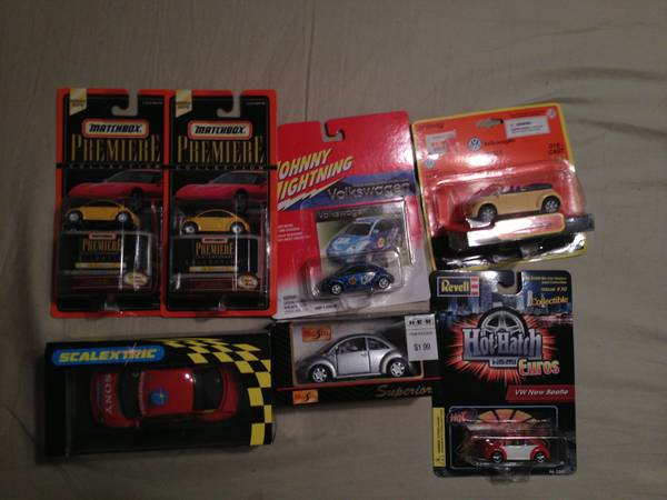 VW Volkswagen Scalectric Slot Car - New Beetle Cup Racer - $45 (West Houston Katy)