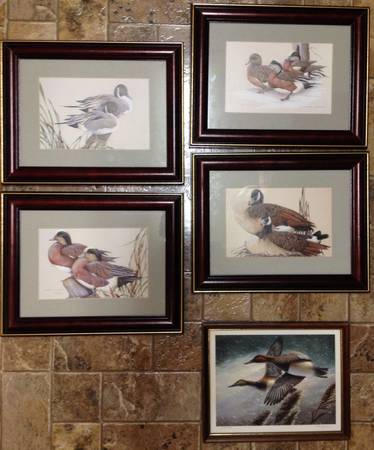 Set of Art Lamay Rob Leslie Duck Prints - $35 (Missouri City)
